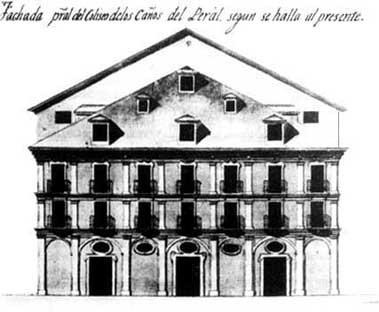 El Madrid de los Borbones (II): del Teatro Real a la estación de Príncipe Pío Peralfachada