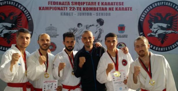 Karate, Partizani kampion për herë të 18-të 615X315221902_Partizani_Karate