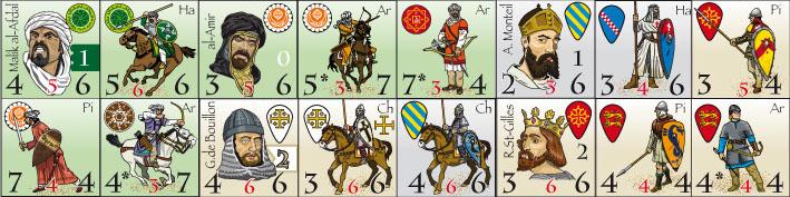 Canons en Carton : Epées et Croisade Pionscroisade