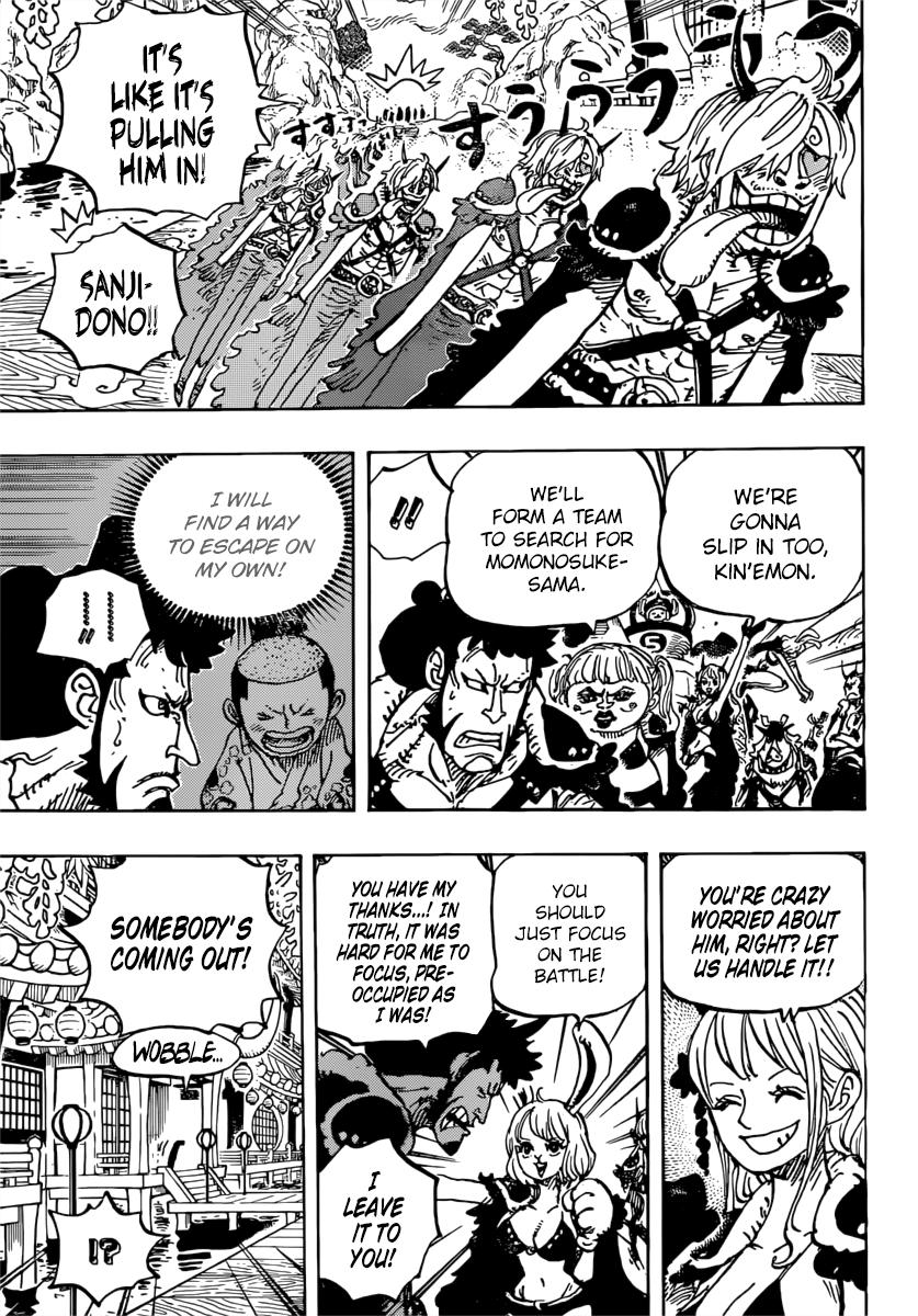 One Piece Manga 981 [Inglés] 13