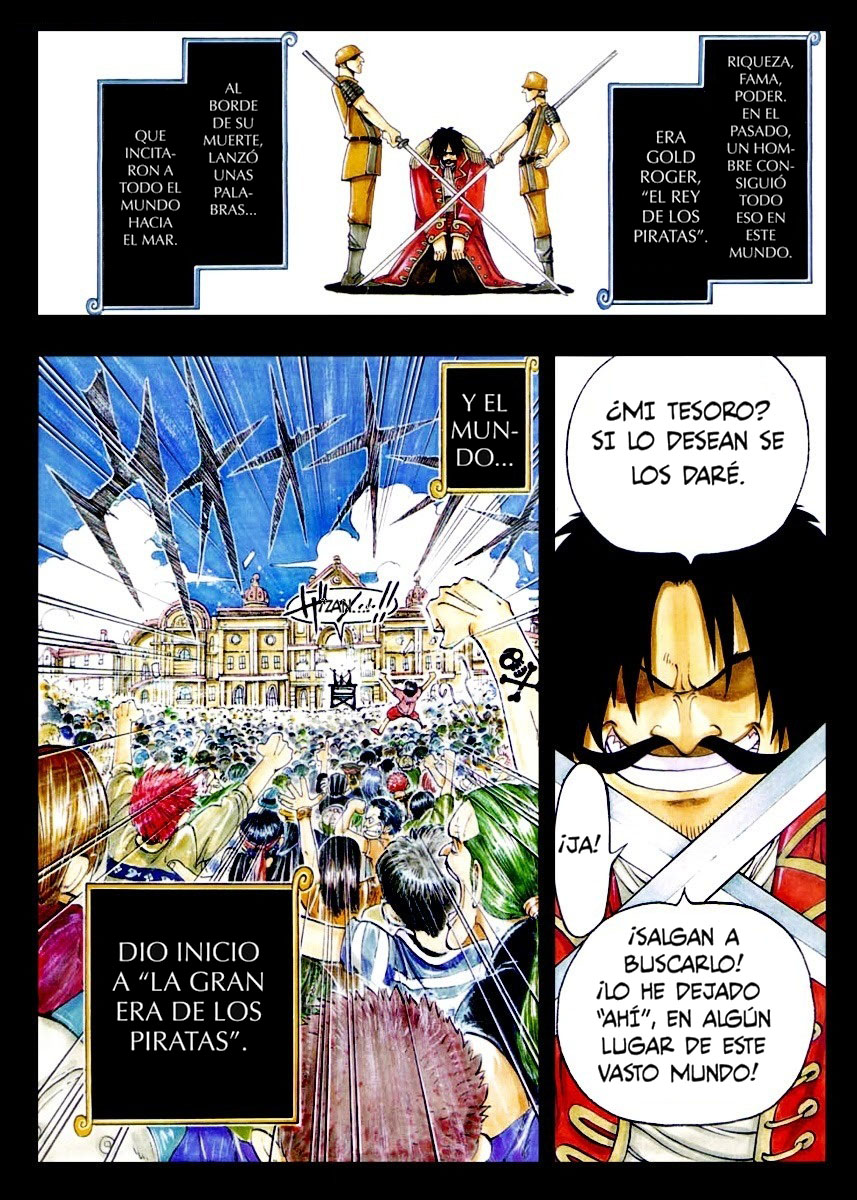 One Piece Manga 01 [Full Color] 02