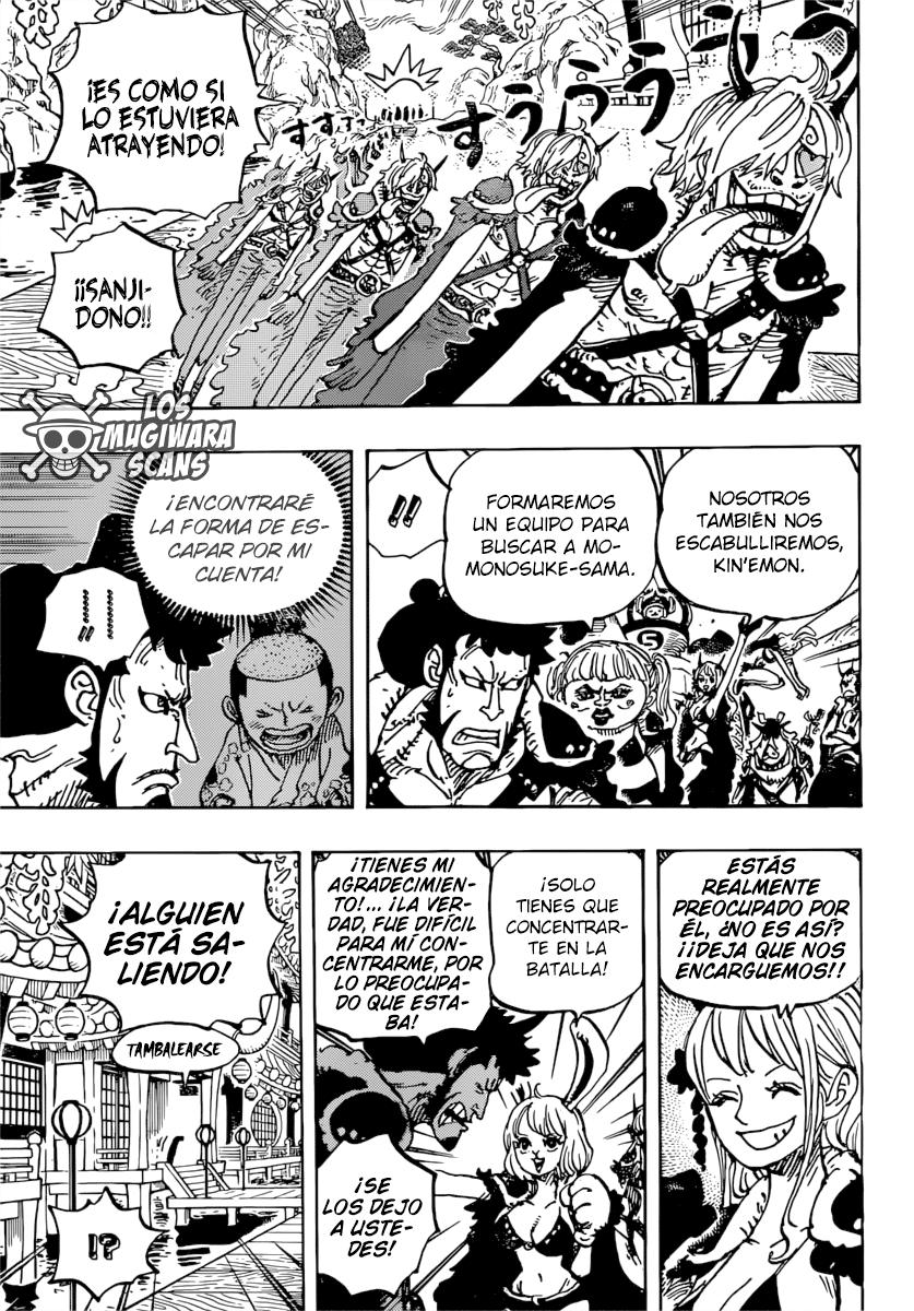 One Piece Manga 981 [Español] [Mugiwara Scans] 13
