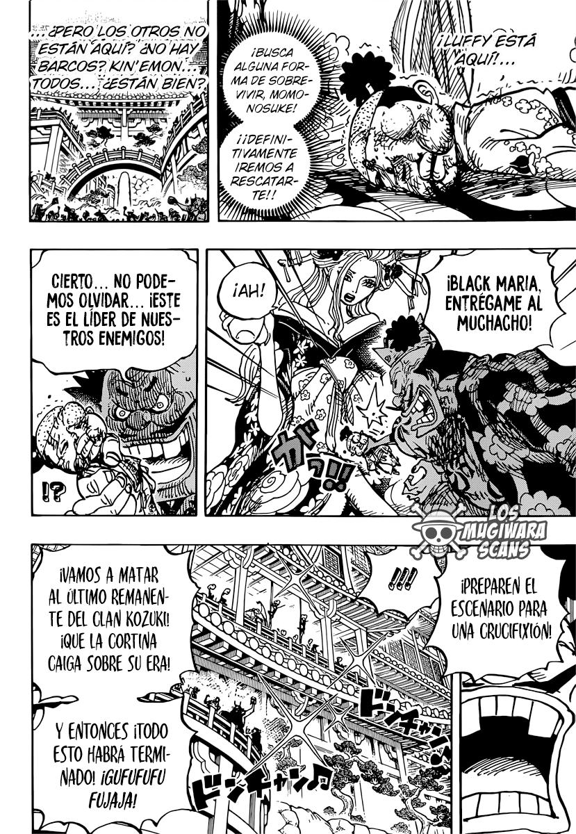 One Piece Manga 982 [Español] [Mugiwara Scans] 08