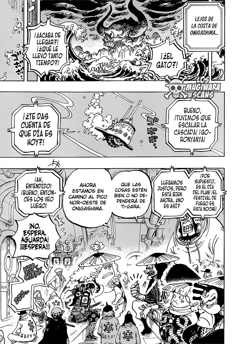 One Piece Manga 982 [Español] [Mugiwara Scans] 09