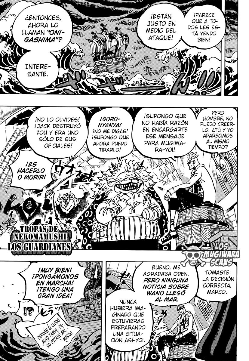 One Piece Manga 982 [Español] [Mugiwara Scans] 11