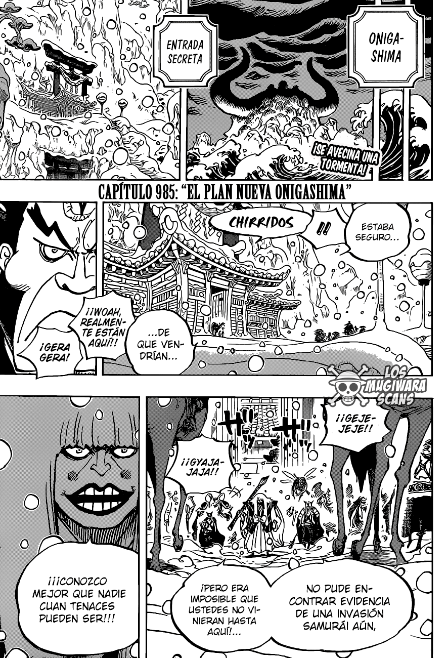 One Piece Manga 985 [Español] [Mugiwara Scans] 02
