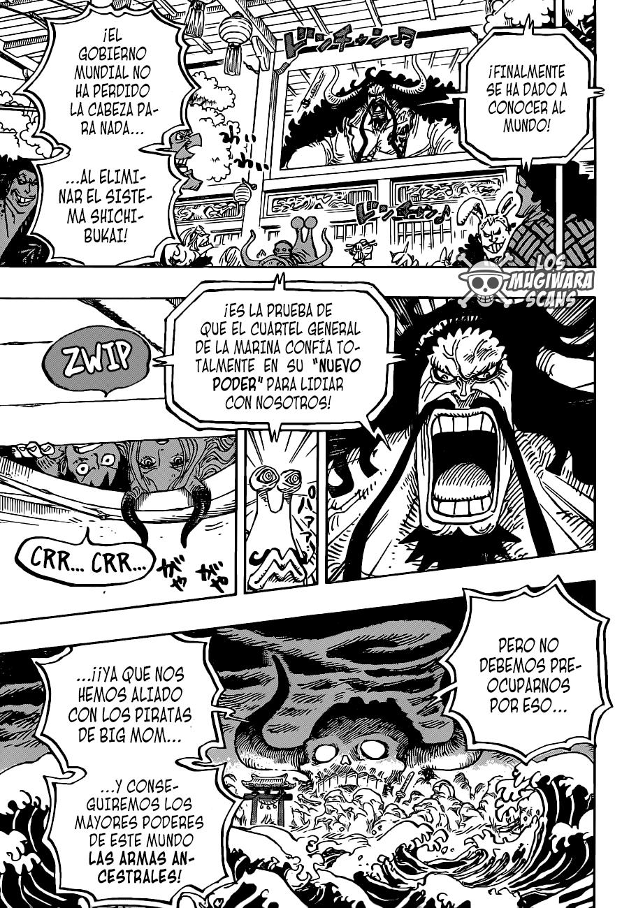 One Piece Manga 985 [Español] [Mugiwara Scans] 09