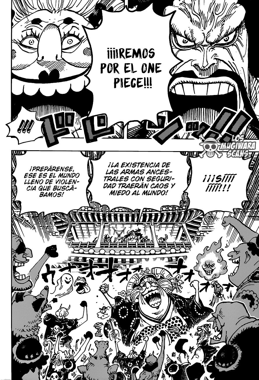 One Piece Manga 985 [Español] [Mugiwara Scans] 11