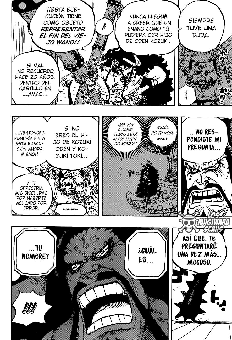 One Piece Manga 986 [Español] [Mugiwara Scans] 07
