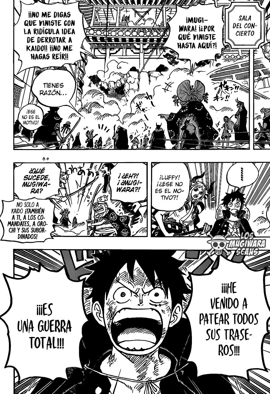 One Piece Manga 987 [Español] [Mugiwara Scans] 09