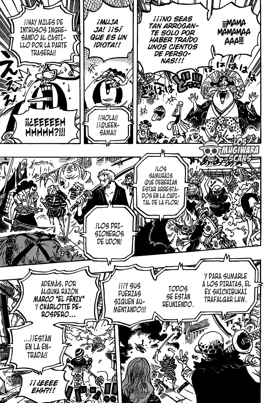 One Piece Manga 987 [Español] [Mugiwara Scans] 10