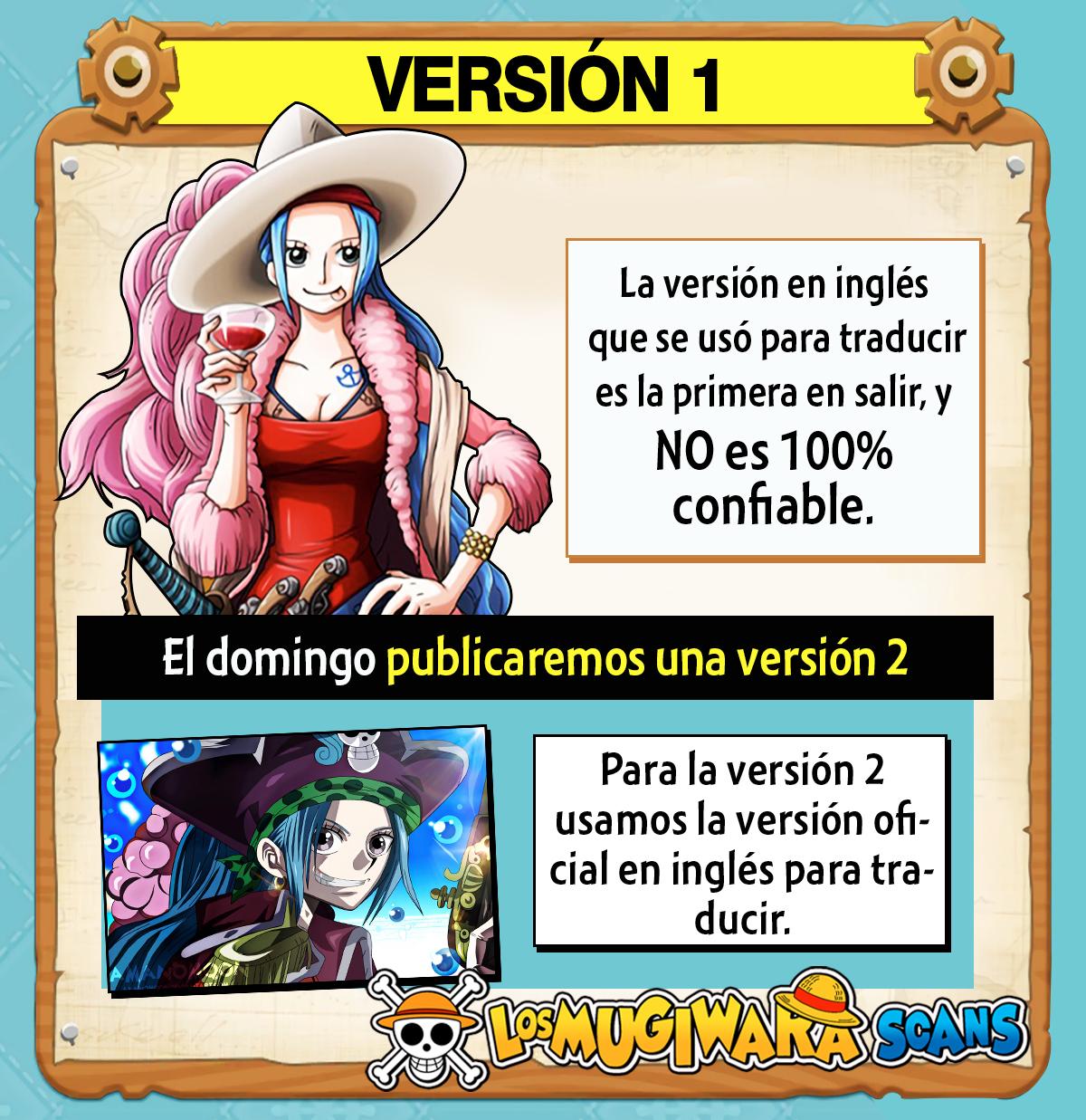 One Piece Manga 990 [Español] [Mugiwara Scans] 00
