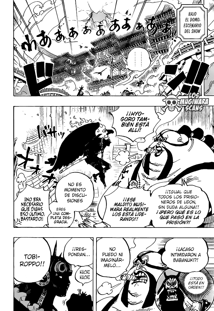 One Piece Manga 990 [Español] [Mugiwara Scans] 06