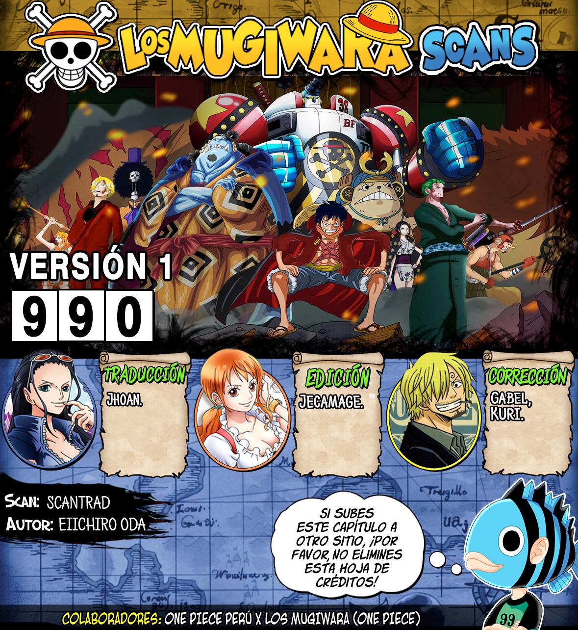 One Piece Manga 990 [Español] [Mugiwara Scans] 99