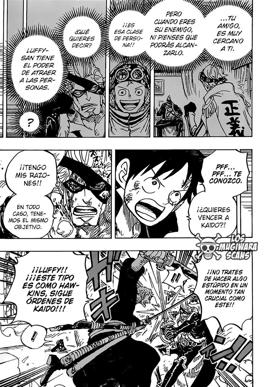 One Piece Manga 991 [Español] [Mugiwara Scans] 03