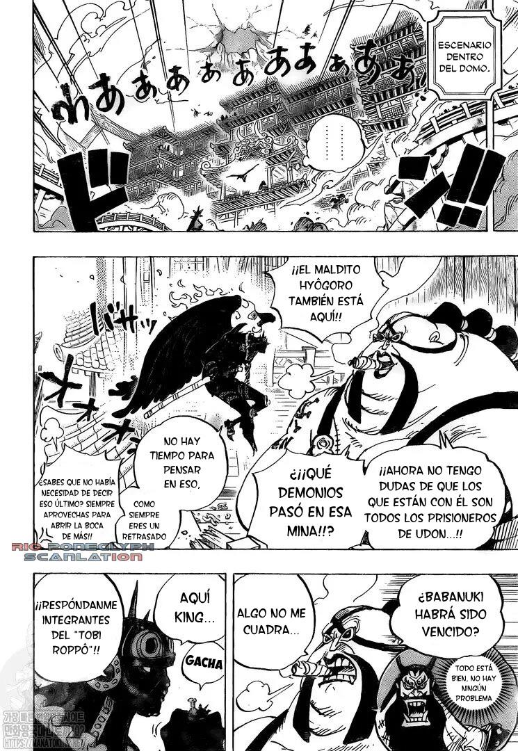 One Piece Manga 990 [Español] [RioPoneglyph Scan] 06