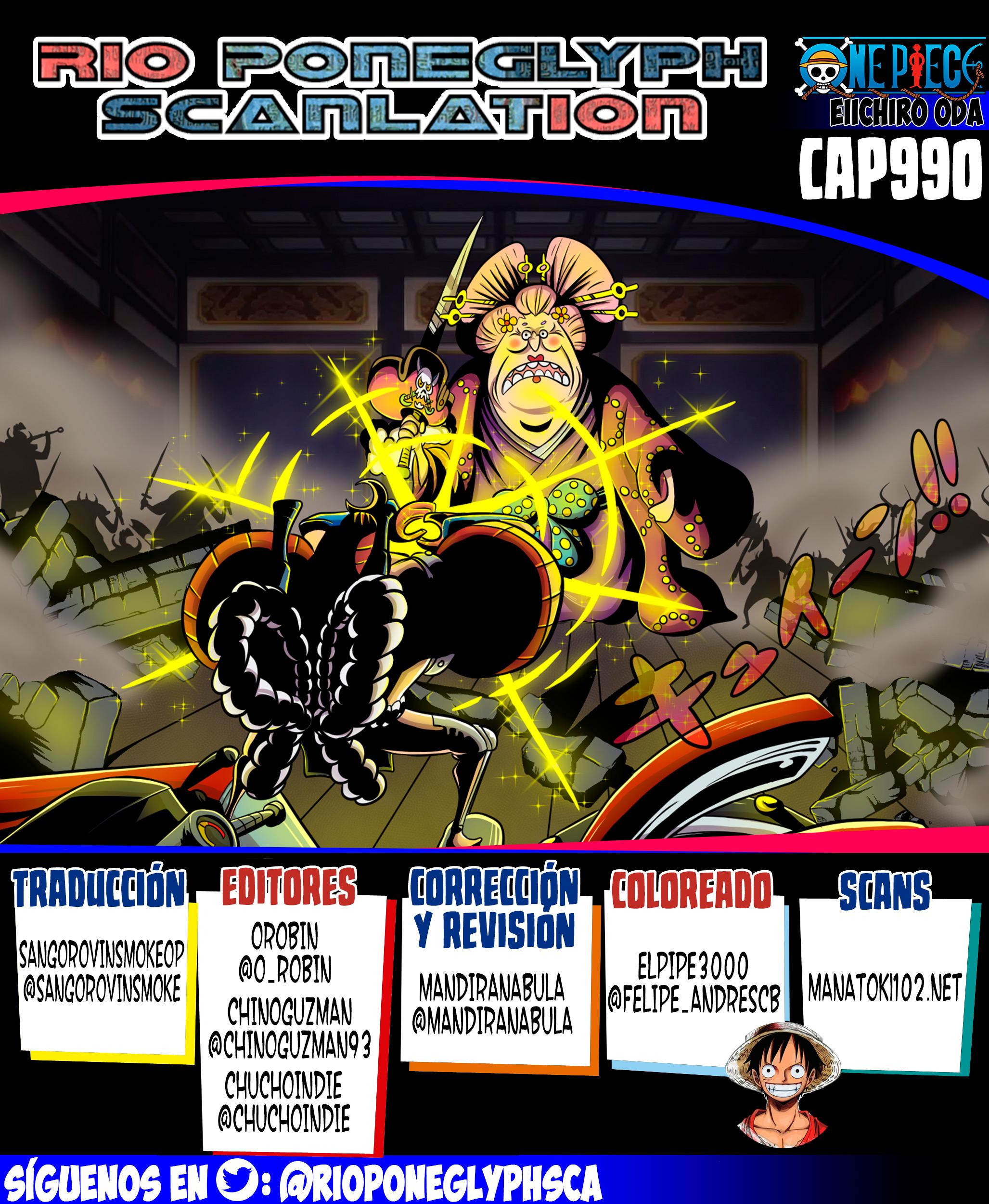 One Piece Manga 990 [Español] [RioPoneglyph Scan] 17