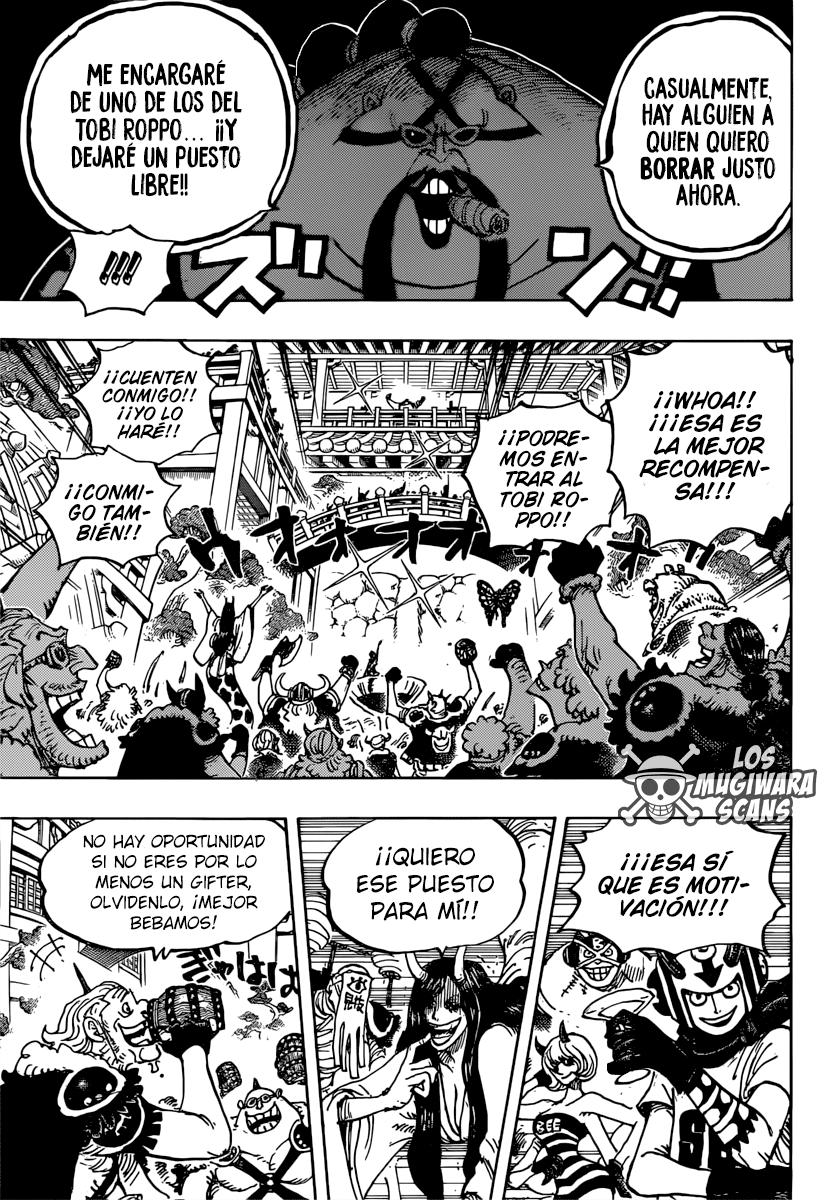 One Piece Manga 980 [Español] [Mugiwara Scans V2] 09