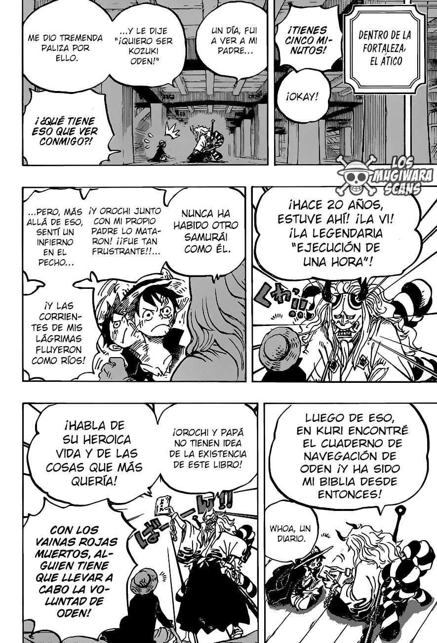 One Piece Manga 984 [Español] [Mugiwara Scans] 13