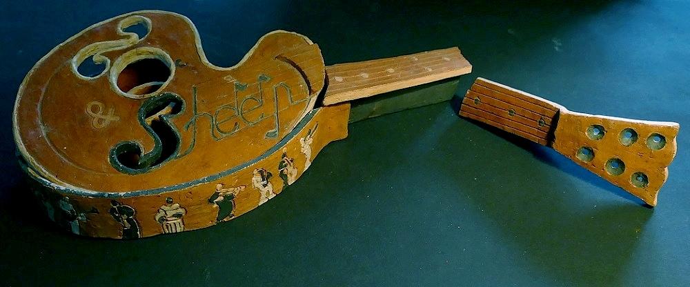 TECHNIQUES et MUSIQUES, IMPROVISATION pour GUITARE. 5 doigts main droite (6, 7 & 8 strings) GuitareTerre2