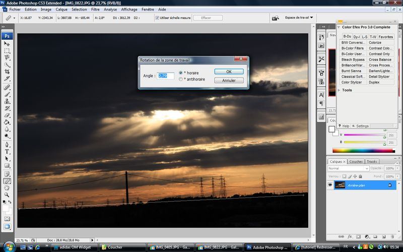 Tutoriel simple de redressement d'une photo et du recadrage de la photo avec Photoshop Sans%20titre-5