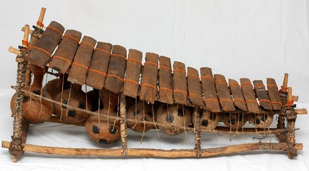 Instrumentos raros/fantasía Instrumento-Balafon