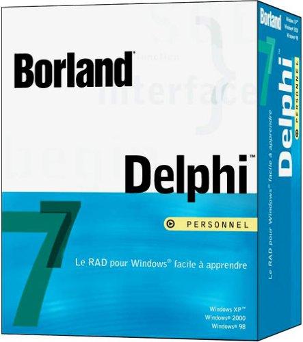 احسن وافضل برنامج البرمجة Delphi7
