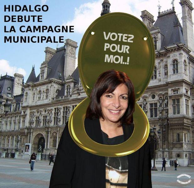 Le dessin du jour (humour en images) - Page 20 Hidalgo_Mairie_de_Paris