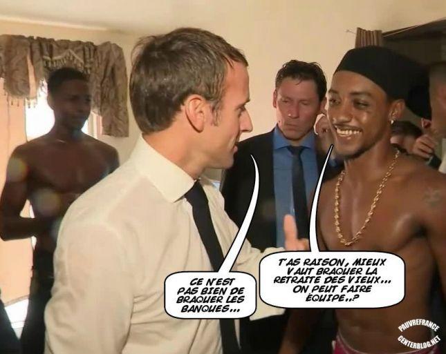 Le dessin du jour (humour en images) - Page 20 Macron_ile_St_Martin_2