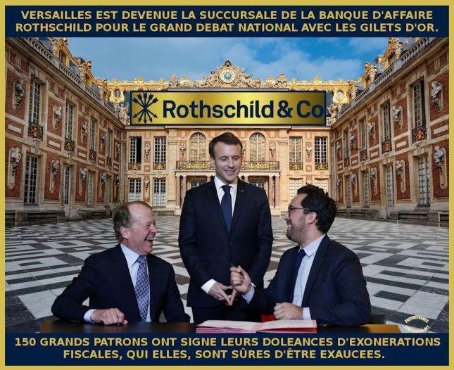 Le dessin du jour (humour en images) - Page 23 Macron_versailles_2