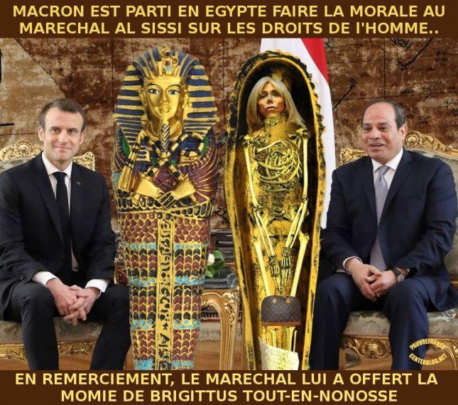 Le dessin du jour (humour en images) - Page 23 Macron-Al_Sissi