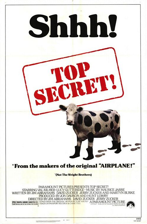 Classic Movies. Top-secret-movie-poster