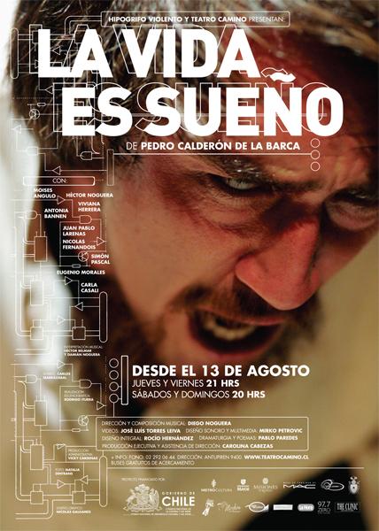 La vida es sueño, Calderón de la Barca Afiche-la-vida-es-sueno