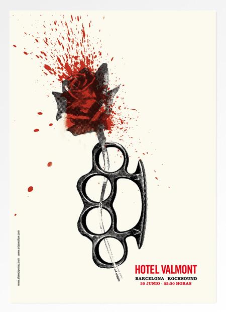 Los posters de los conciertos  15_valmontBCN