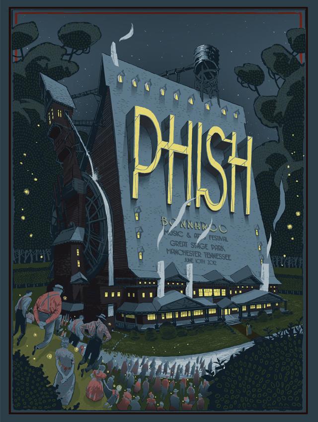 Los posters de los conciertos  - Página 2 Phish_bonnaroo