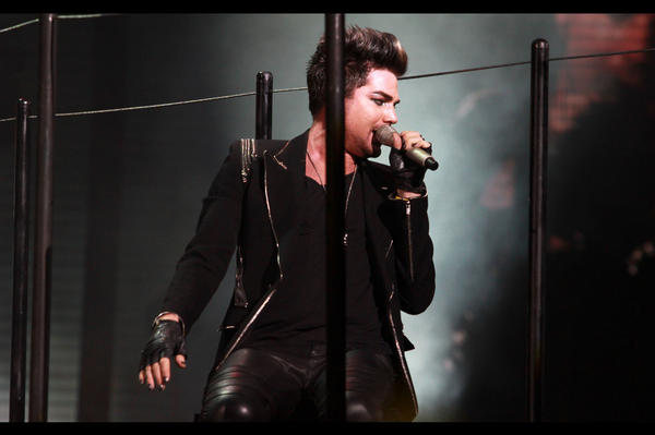 Adam Lambert's press conference for Hennessy event in Shanghai. 01.12.12 A9UglSbCAAARE09