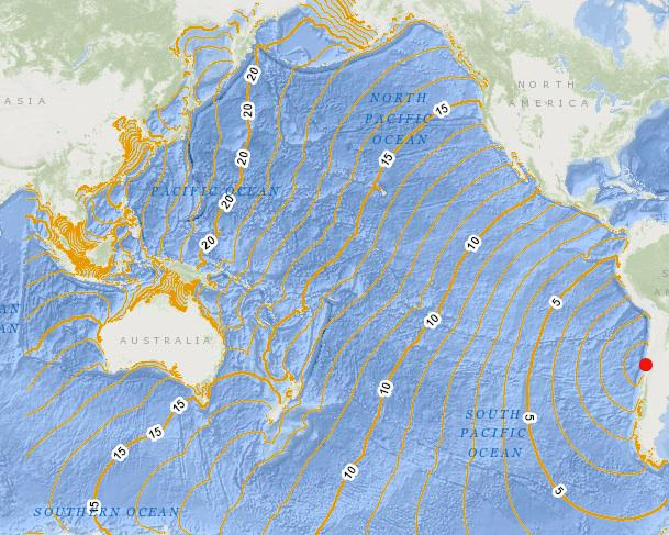 Strong Earthquake in Chile CPEMbWGUEAAcsgS