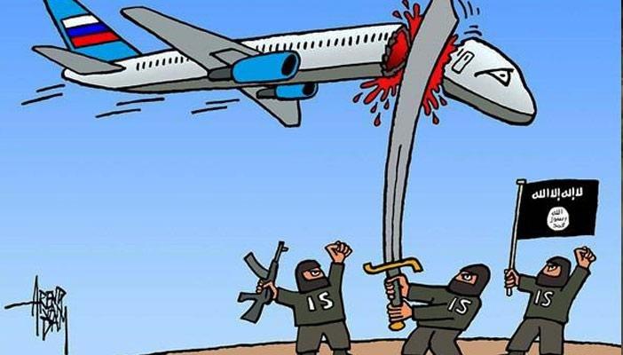 سقوط طائرة ركاب روسية بوسط سيناء CTFIruPWsAEm8MG