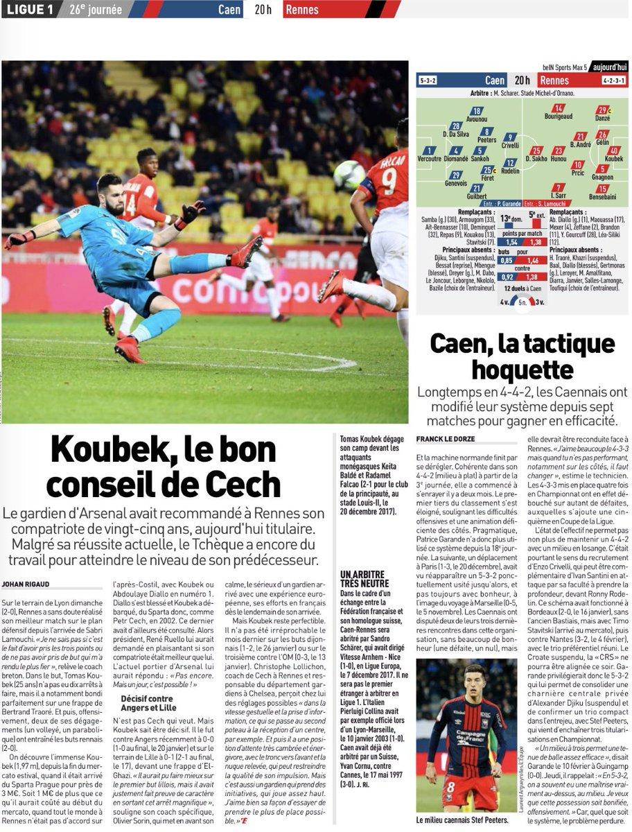 [26e journée de L1] SM Caen 2-2 Stade Rennais DWMZLjIXUAAFiTE