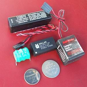 PANNE Bios PC 386 Cmos-batteries-types