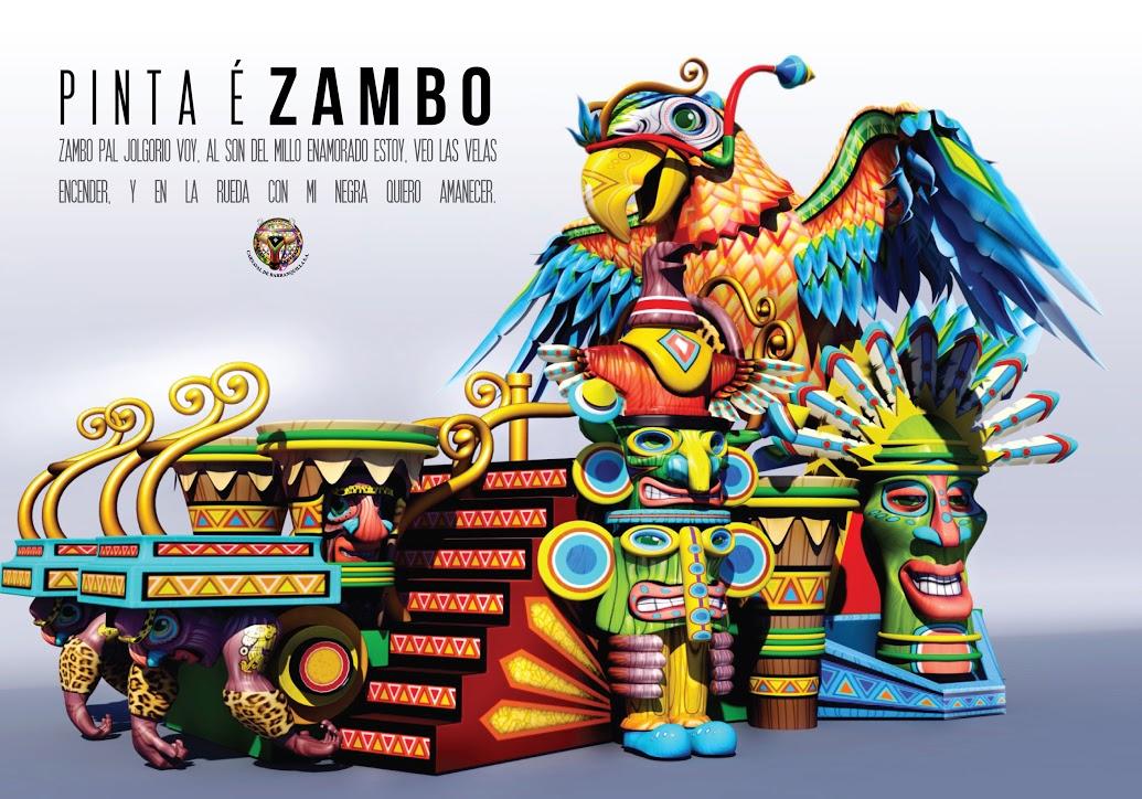 Carnaval Foristico [Evento] PINTA_E_ZAMBO