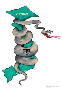 không - Cuộc xâm lược không tiếng súng của Trung Quốc VietnamDaMat