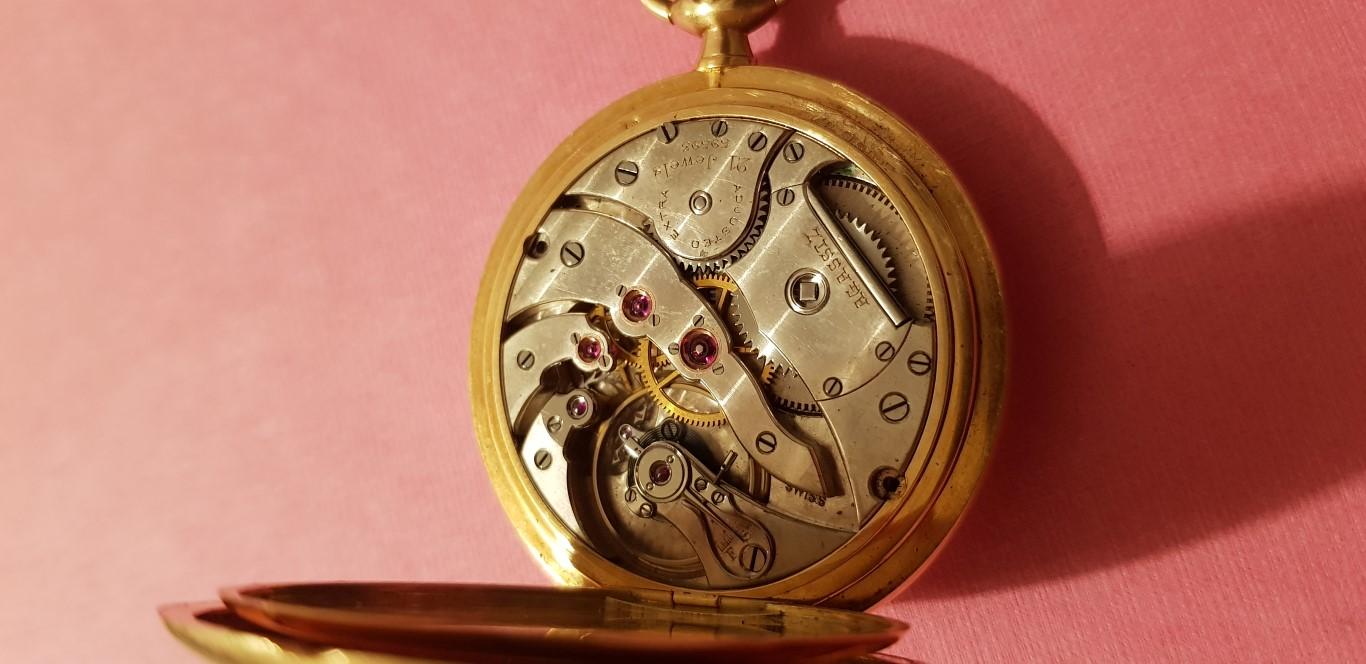 "Chronomètre ""bulletin 1ère classe"" Agassiz Agassiz2"