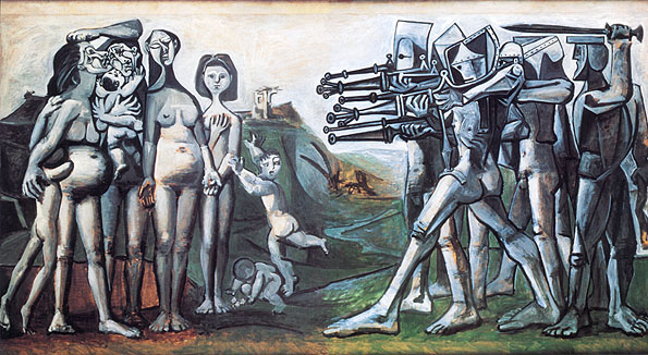 Taide - Sivu 2 Picasso_massacre_in_korea
