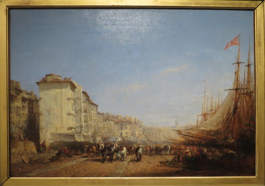 * une toile sur la toile * - Page 15 Ziem_Port_Marseille