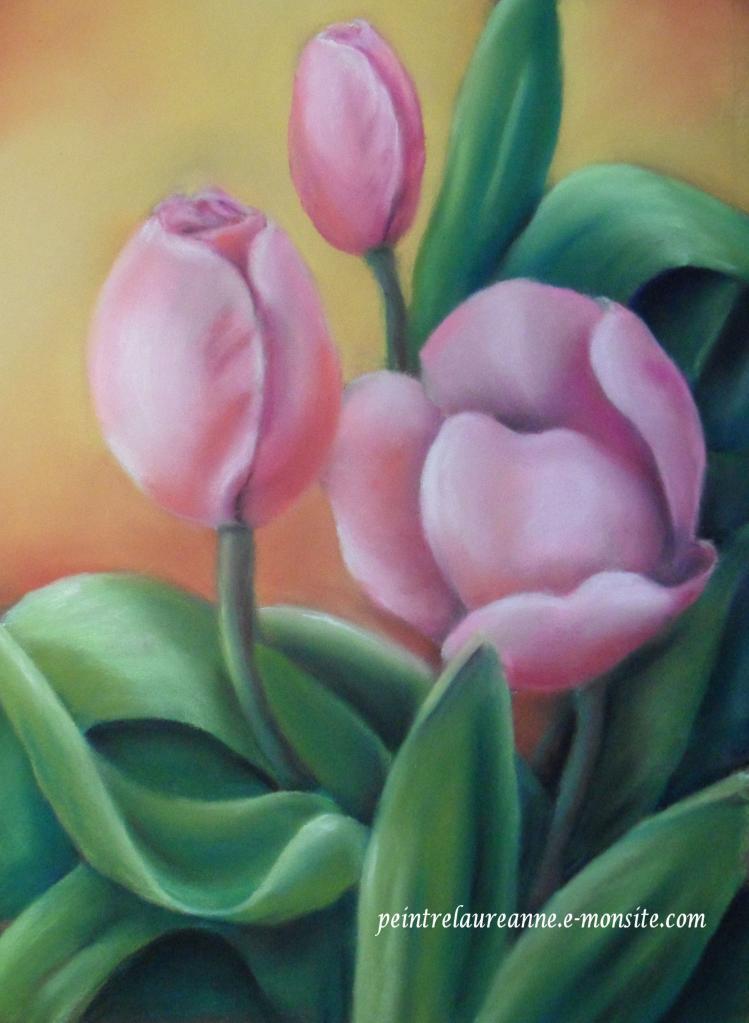 * une toile sur la toile * - Page 14 Tulipes