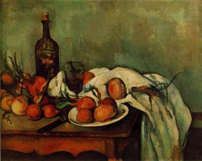 Mes natures mortes préférées Cezanne18