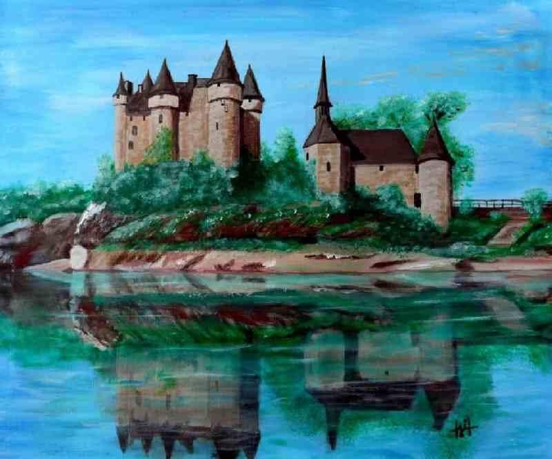 Artistes cantaliens JD-Chateau-de-Val