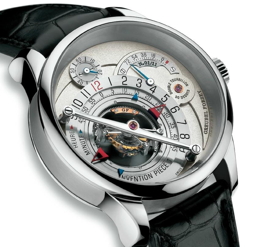 News : Greubel Forsey Invention Piece 1 Platinum 1691