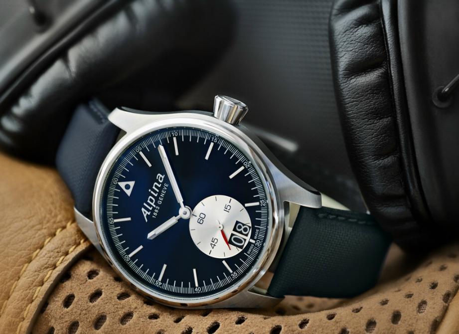 Alpina - News : Alpina Startimer Pilot Grande Date Alpnewpil1